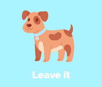 11.Leave it