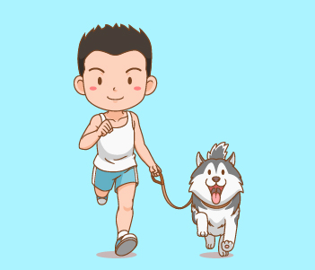 15.Keep your dog well exercised